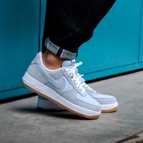new concept 025f6 c943a NEW - Nike Air Force 1  07. Light Armory Blue